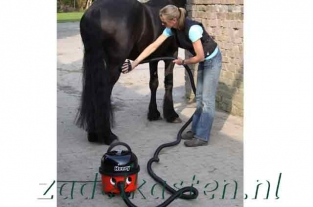Equimatic Grooming Kit + Henry Horse stofzuiger